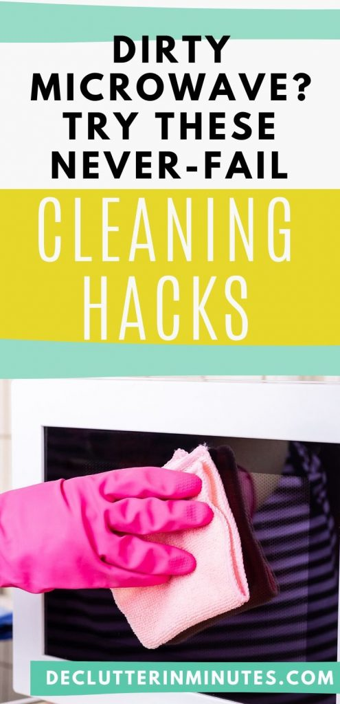 Microwave cleaning hacks.