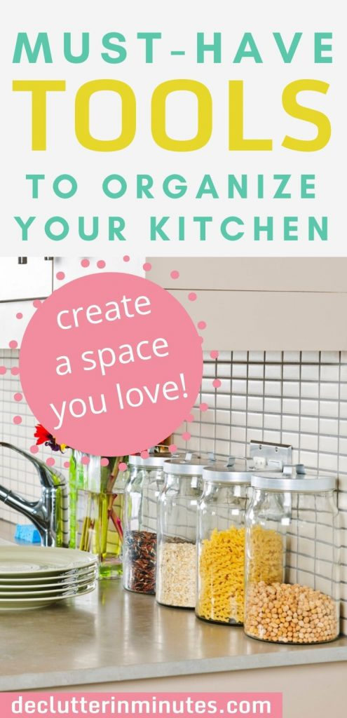 How to organize everything in your kitchen!