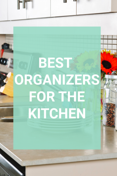 Is your kitchen decluttered but now you are stuck without to keep it that way? These are my favorite kitchen organizing tools that really help to keep my own kitchen clutter free. Read the list and choose what will work best for you. Or you can be inspired to make your own. Real simple kitchen organization. #kitchentips #organizers #declutter