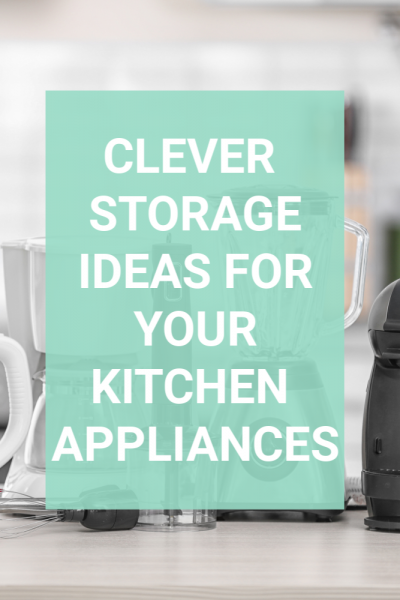 Are you frustrated with the stuff that is spread out all over your kitchen counters? Wish you had more space? Maybe your solution isn't an expensive remodel but instead a reevaluation. Keep out only what you use regularly and store the rest and you will love your kitchen again. #kitchenstorage #clutterfreekitchen #kitchenorganization