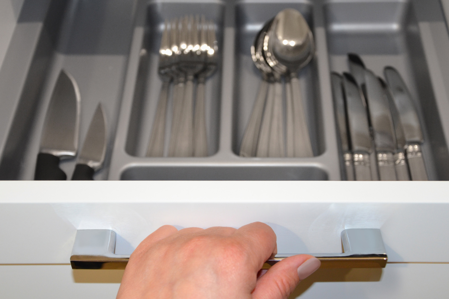 a silverware drawer. Kitchen clutter solutions to organize your home and kitchen