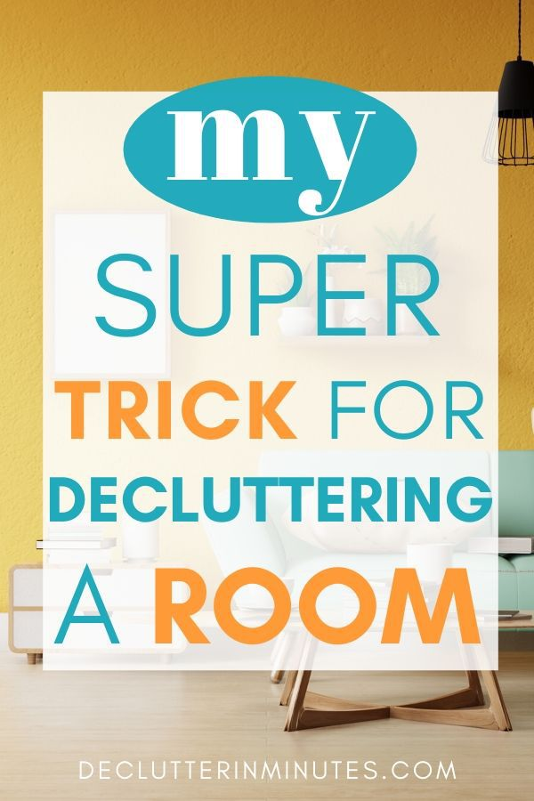 One thing everyone should do before decluttering. How to remove clutter overwhelm. The secret that will make organizing easier. How to tackle a decluttering project. ow to declutter your home fast. Step by step decluttering tips. #clutter #declutter #organize