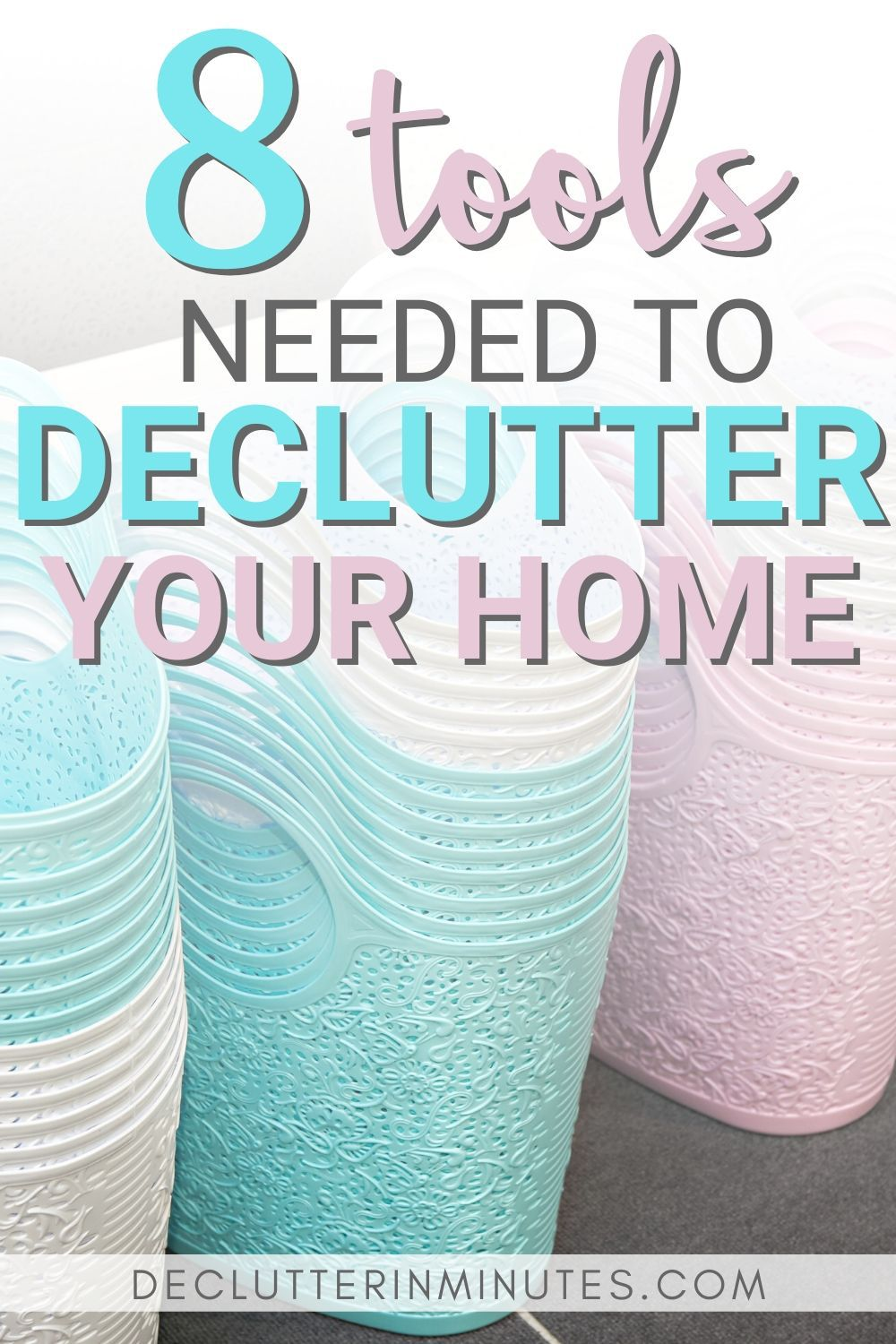 how to set up a decluttering kit