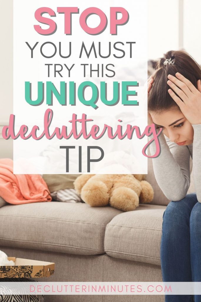 unique tips on decluttering without overwhelm