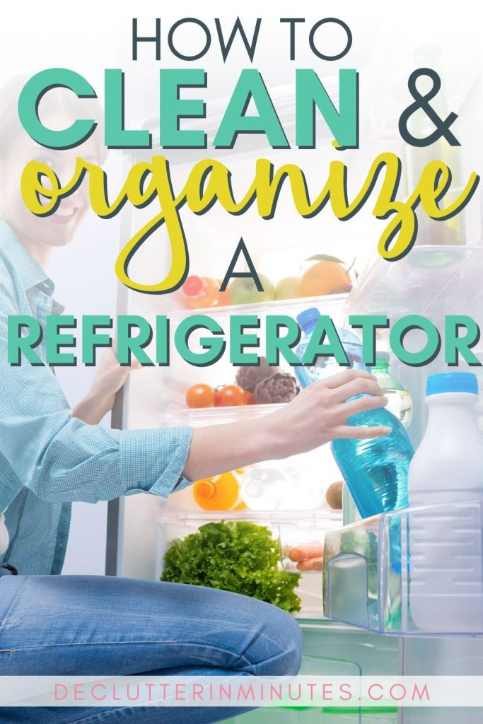 One of the biggest budget busters is food. Spoiled, outdated, stale or things our family just won't eat. It can be frustrating each time you head to the store. By having a cleaned and organize refrigerator you might just be surprised at how this can help you save big money at the grocery store. #organizekitchen #cleanandorganize #cleanrefrigerator