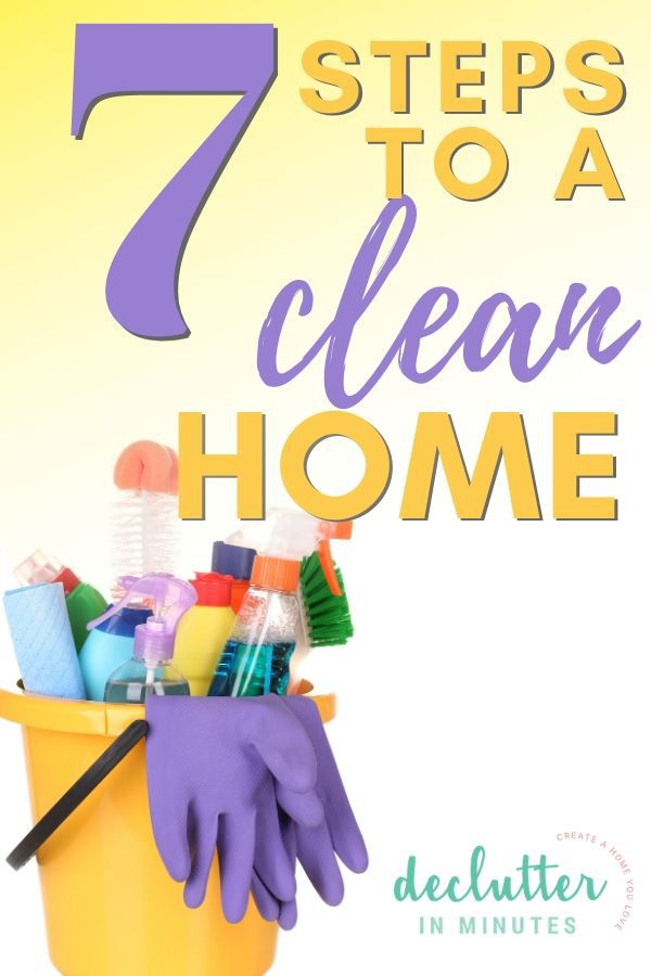 how to clean your home fast and easy