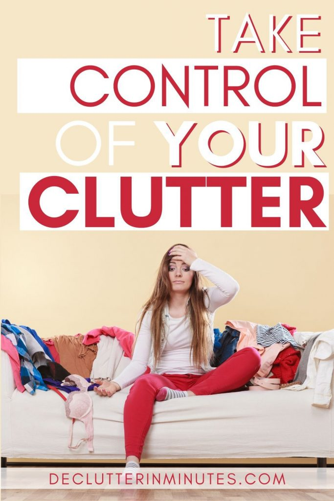 how to have a clutter free home when you are a messy person