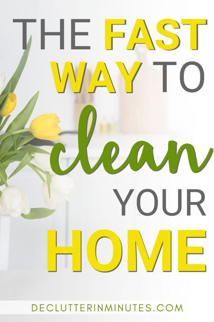 Daily, weekly, monthly cleaning tips on how to clean your home fast