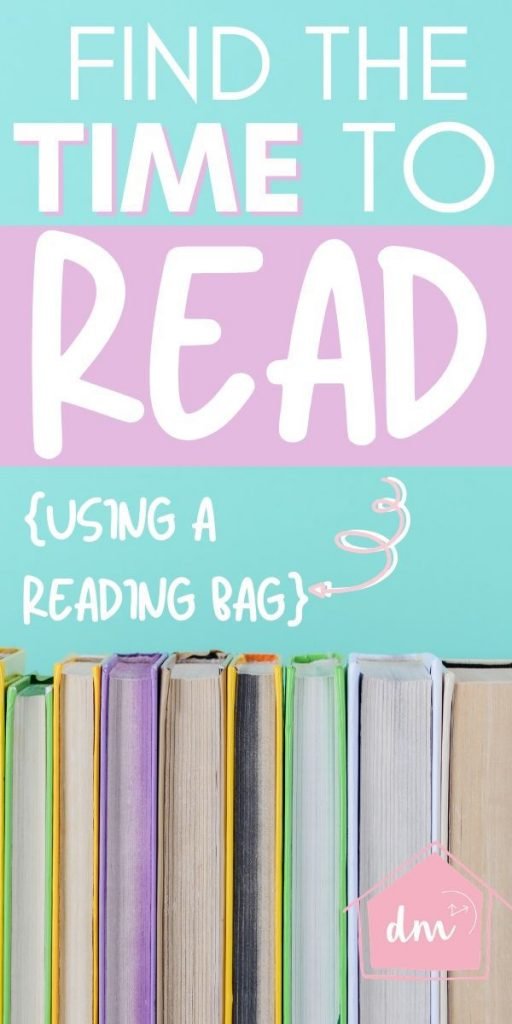 Do you wish you had more time to read? Or do you have the time but your books . are not organized enough to keep current items upfront so you can more easily get to them? Let me introduce you to the reading bag. A simple way to learn how to read more even when you are super busy. #organizebooks #declutterbooks #readmoreoften #declutterinminutes