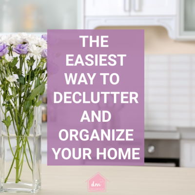 Organizing Calendar How to Declutter Your Home