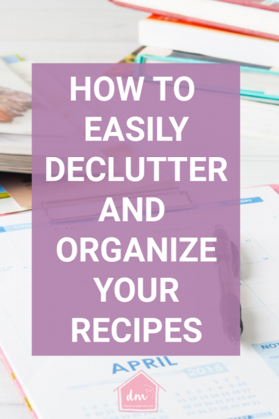 Do you struggle with meal planning? Feel like you have a gazillion recipes but never any idea what to make for dinner? Maybe all that you need is an organized recipe system that you can set up today. Make mealtime fun again! #recipeorganization #organizerecipes #recipesystem #mealplanning