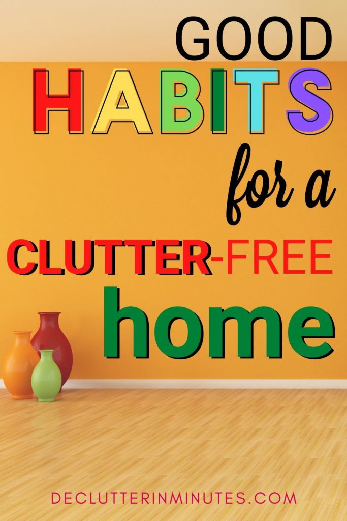 How to keep your home clutter-free with a morning routine. How to create a morning routine for a neat and organized home. How to create daily habits and routines for a home without clutter. Set up a routine for the morning so you an start the day right. Tips to create a morning routine that will change your life. Morning habits that will organize your home. Makeover your mornings with a morning routine. #routine #morningroutine #morning
