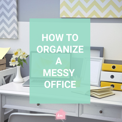 How to Organize a Messy Office