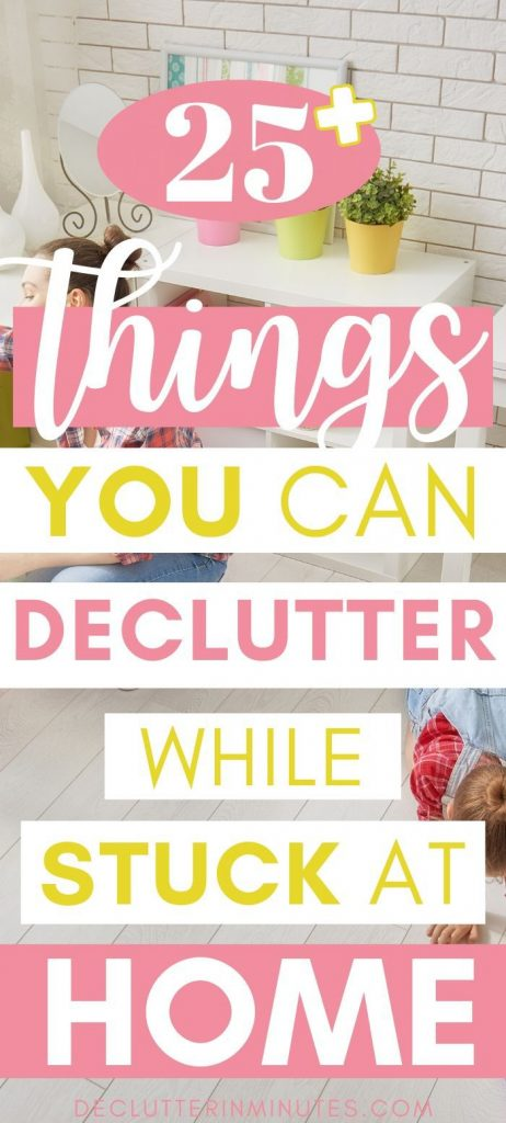 25+ things you can easily declutter in may