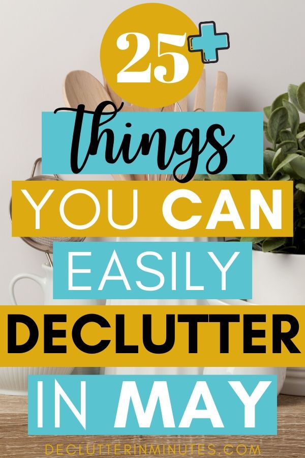declutter the easy way
