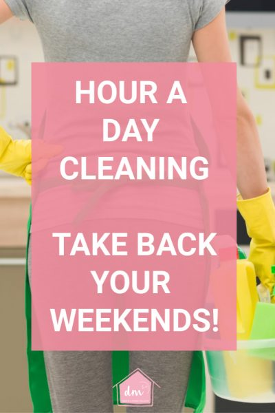 women prepared to clean in hour a day cleaning