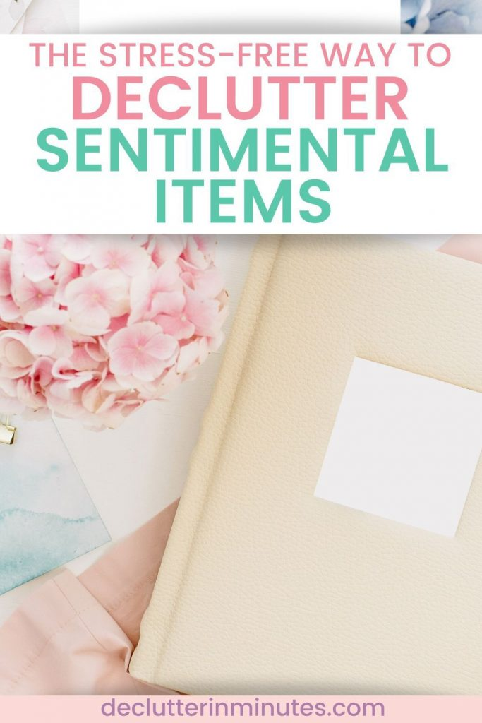 organizing tips for sentimental things