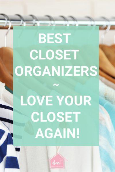 Best closet organizers