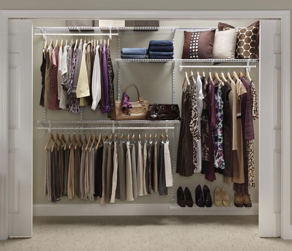 closet organizing system as a best closet organizer
