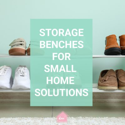 Storage Benches for Small Home Storage