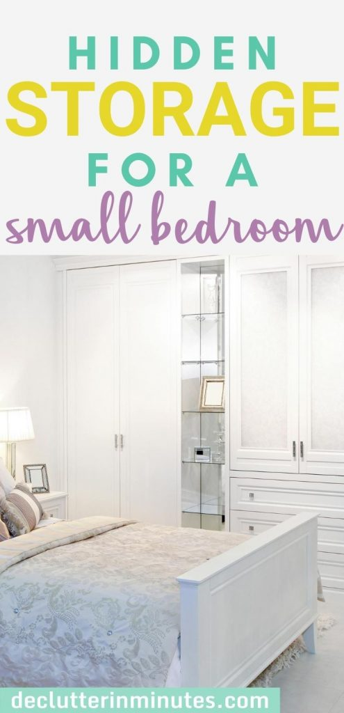 clever hidden storage ideas for the bedroom