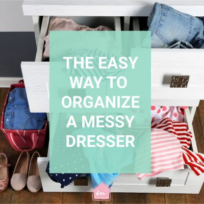 Clothes drawer organization ideas
