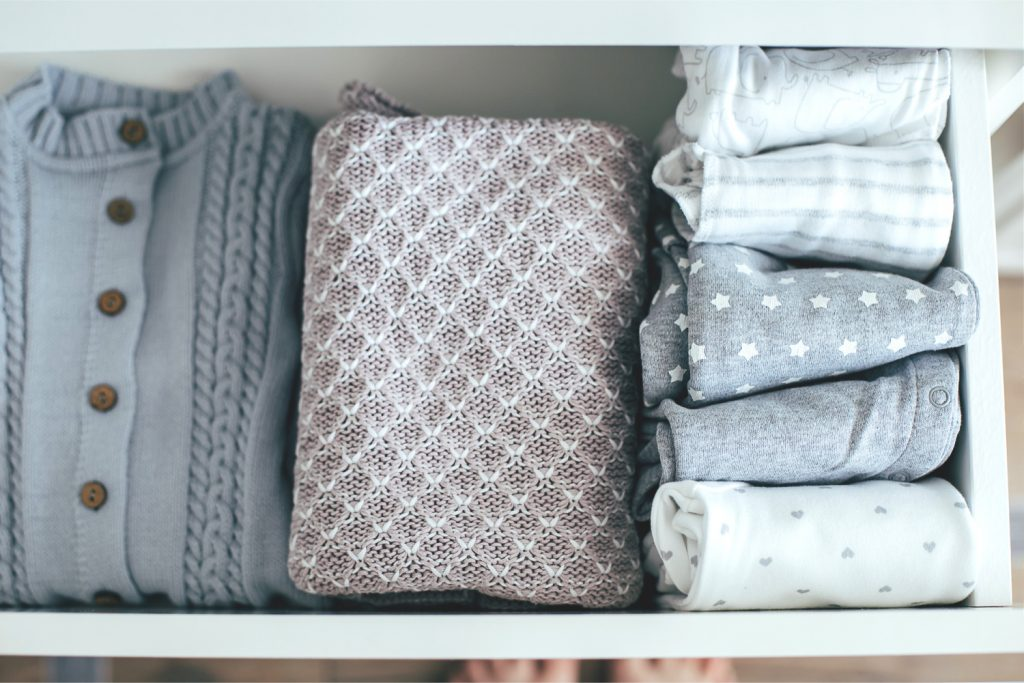 an organized dresser