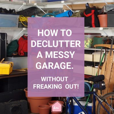 How to Declutter a Messy Garage